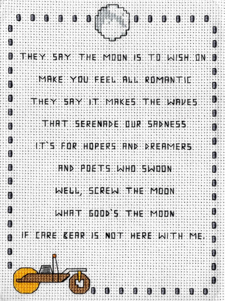 "Oh Sew Nerdy ""Screw The Moon"""