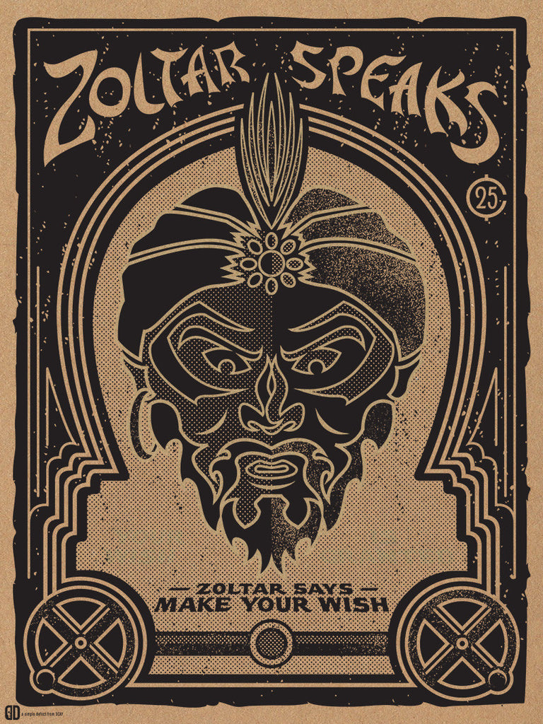 "Sean Naylor / DCAY design ""Your Wish is Granted"" Print"
