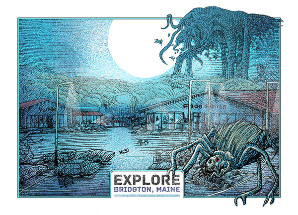 "Shane Lewis ""The Mist"" Postcard Print"