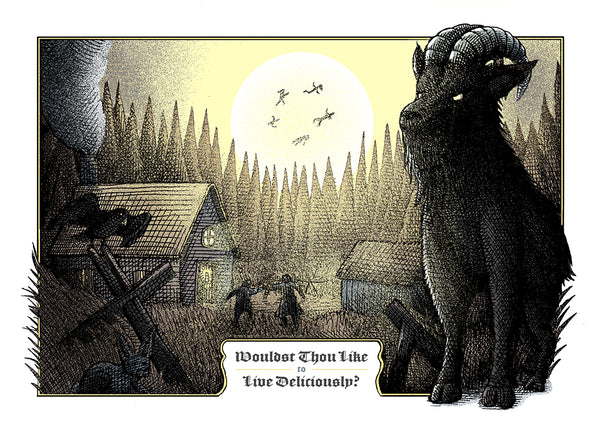 "Shane Lewis ""The Witch"" Postcard Print"