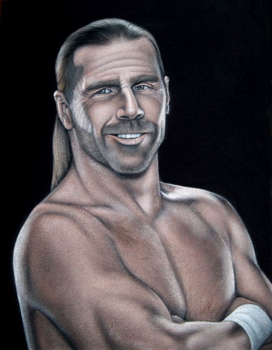 "Bruce White ""Shawn Michaels"""