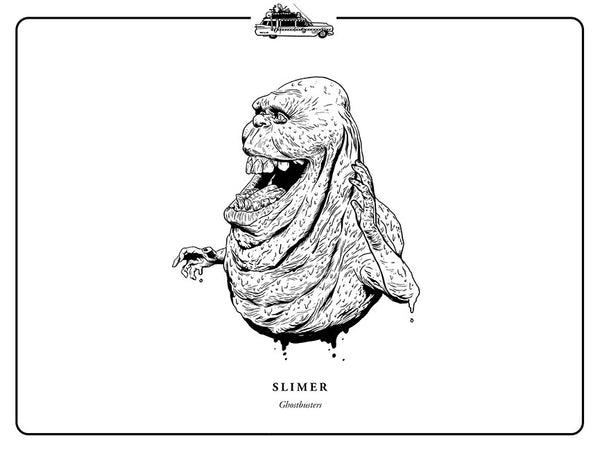 "Evan Yarbrough ""Slimer"" Print"