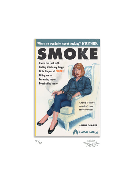 "Jason Chalker ""What's So Wonderful About Smoking?"" Print"