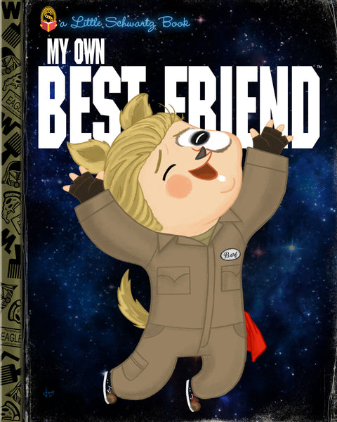 "Joey Spiotto ""My Own Best Friend"" Print"