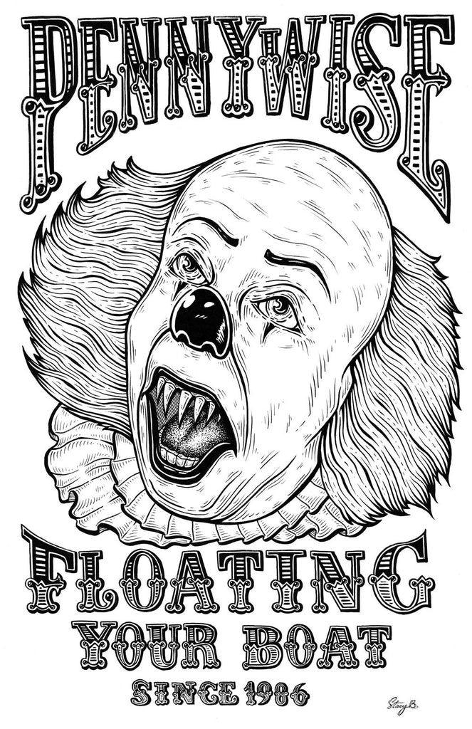 "Stacy Bates ""Floating Your Boat Since 1986"" Print"