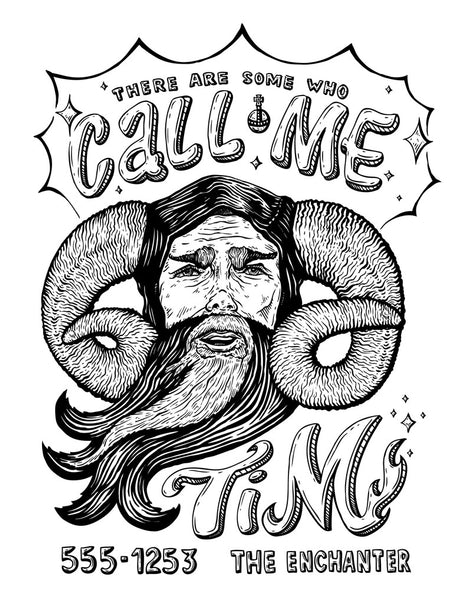 "Stacy Bates ""Call Me Tim"" Print"