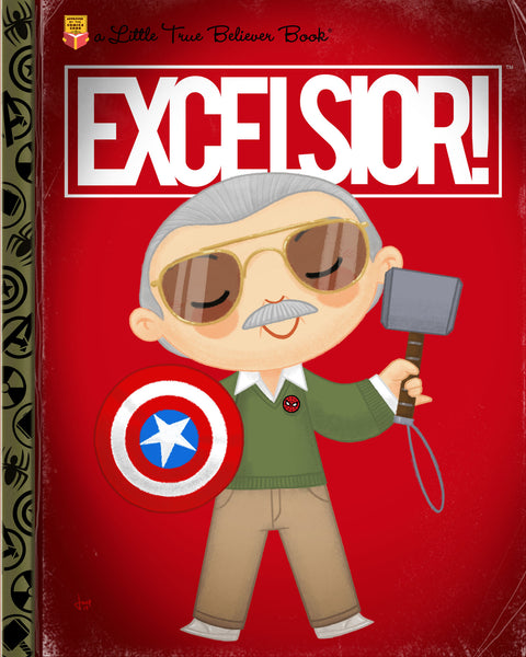 "Joey Spiotto ""Excelsior!"" Print"