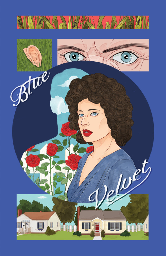 "Stephanie Singleton ""She Wore Blue Velvet"" Print"