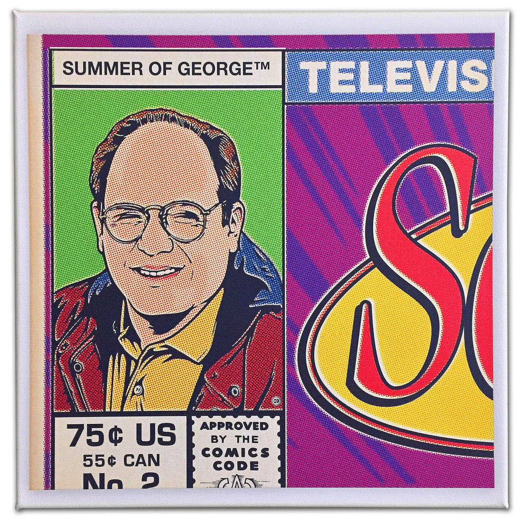 "Steve Dressler ""Summer of George"" Canvas Print"