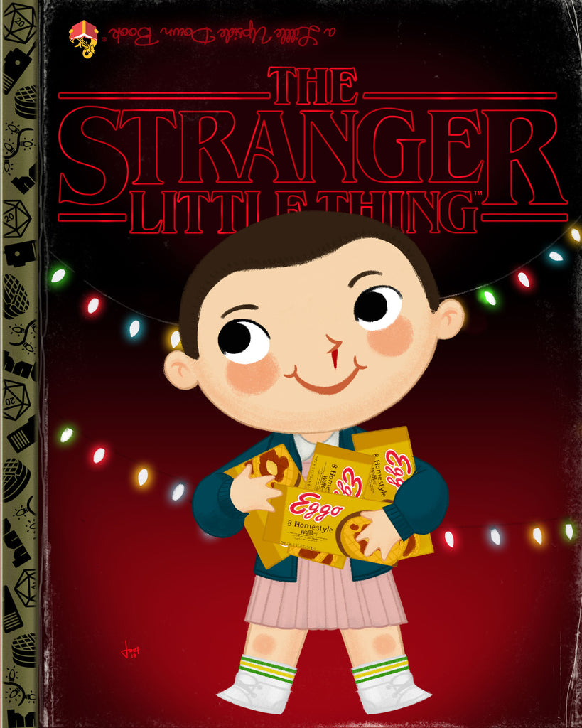 "Joey Spiotto ""The Stranger Little Thing"" Print"