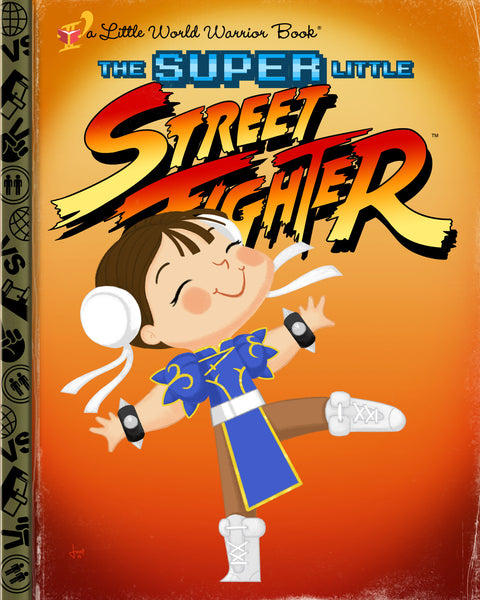 "Joey Spiotto ""The Super Little Street Fighter"" Print"