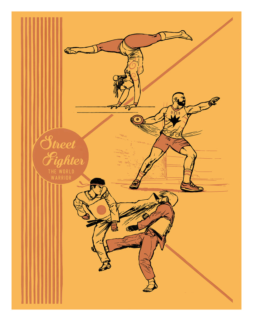"Alex Campos ""Street Fighter"" Print"