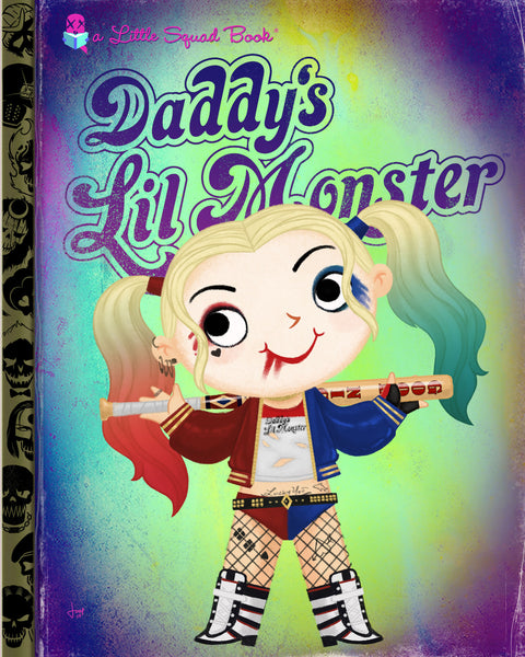 "Joey Spiotto ""Daddy's Lil Monster"" Print"