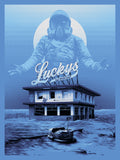 "Tracie Ching ""Lucky (Blue)"" Print"