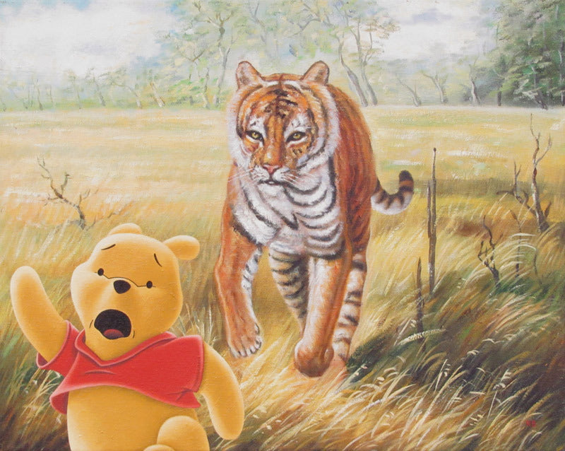 "Robert Brandenburg ""Tigger and Pooh"" Print"