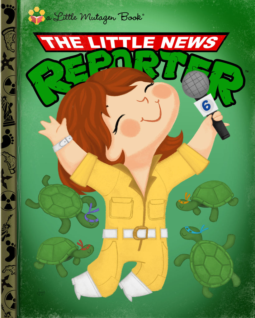 "Joey Spiotto ""The Little News Reporter"" Print"