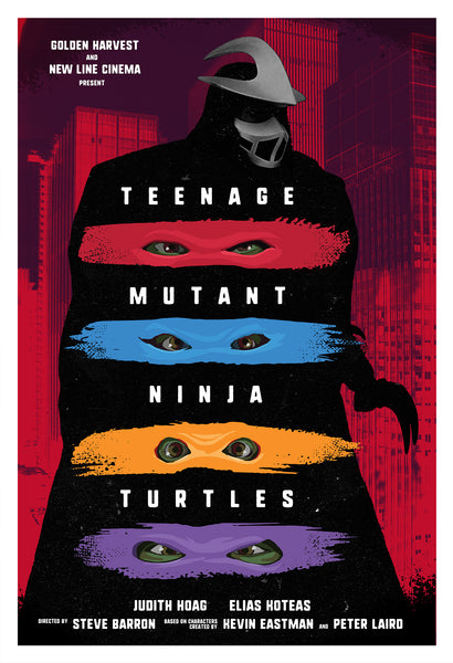 "Chris Ayers ""Teenage Mutant Ninja Turtles"" Print"