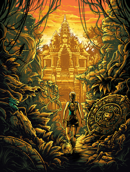 "Dan Mumford ""The knowledge of the Ancients."" Framed Print"