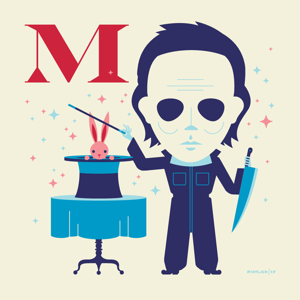 "Tom Whalen ""M is for Making Magic"" Print"