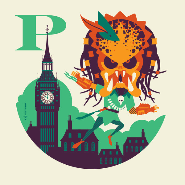 "Tom Whalen ""P is for Peter"" Print"