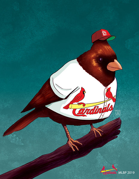 "Tom Valente ""Cardinals"" Print"