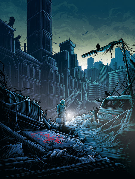 "Dan Mumford ""I am insane. And you are my insanity."" Print"