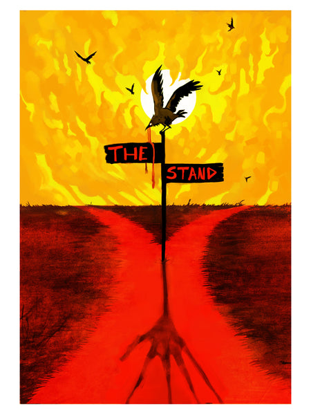 "Taylor Blue ""The Stand"" Print"