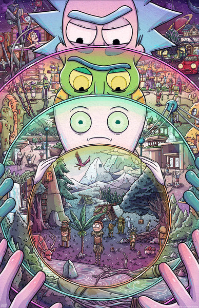 "Taylor Rose ""The Ricks Must Be Crazy (3rd Edition)"" Print"