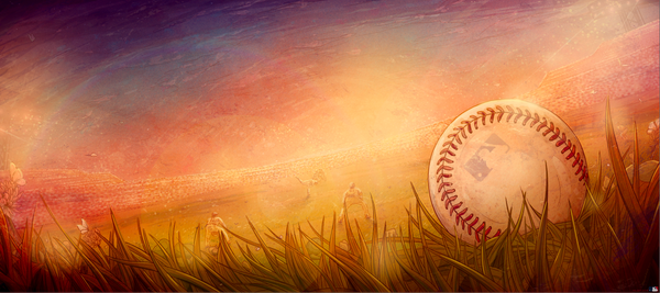 "Taylor Rose ""Outfield"" Print"