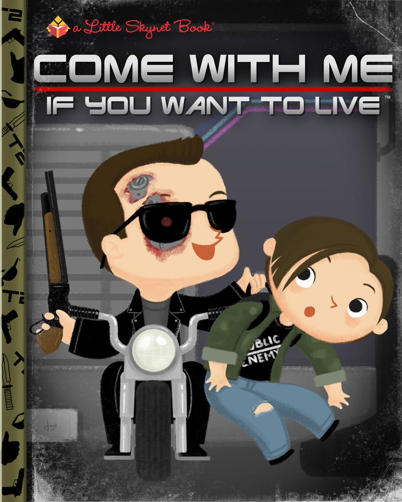 "Joey Spiotto ""Come With Me If You Want To Live"" Print"