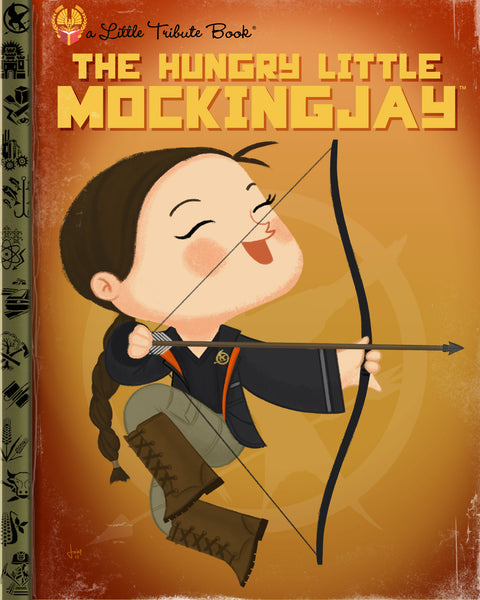 "Joey Spiotto ""The Hungry Little Mockingjay"" Print"