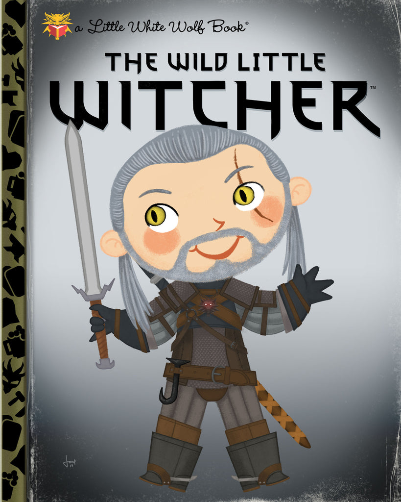 "Joey Spiotto ""The Wild Little Witcher"" Print"