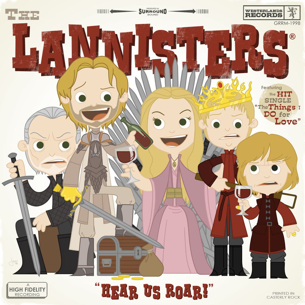 "Joey Spiotto ""The Lannisters"" Print"