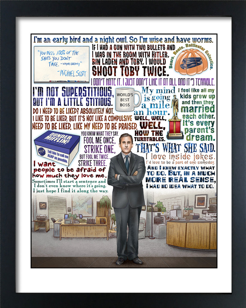 "Chet Phillips ""World's Best Boss"" Framed Print"