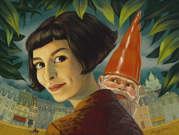 "Dany Paragouteva ""The Gnome Starts to Roam"" Print"