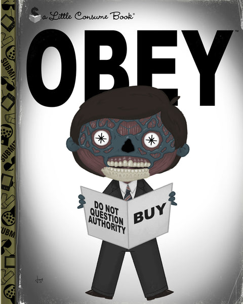 "Joey Spiotto ""OBEY"" Print"