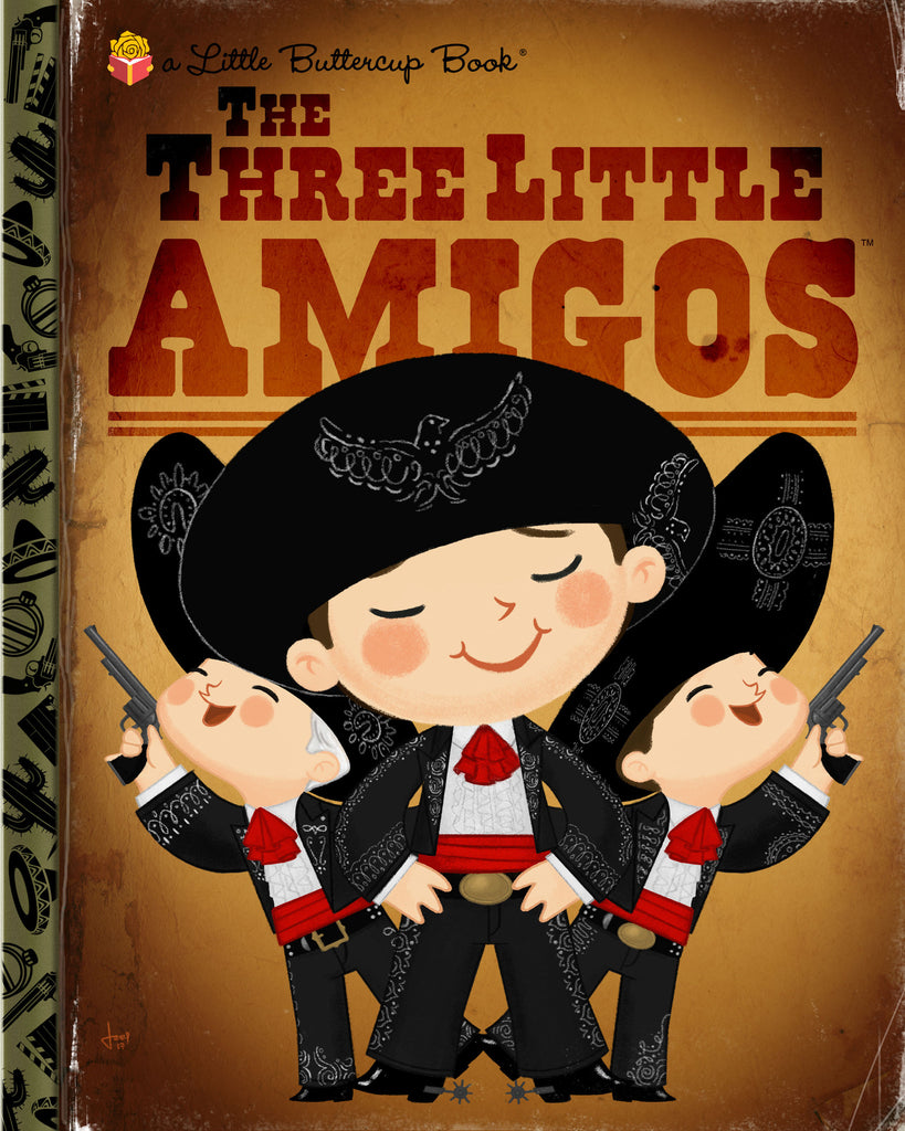 "Joey Spiotto ""The Three Little Amigos"" Print"