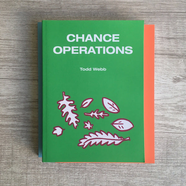 "Toddbot - Todd Webb ""Chance Operations"" Book"