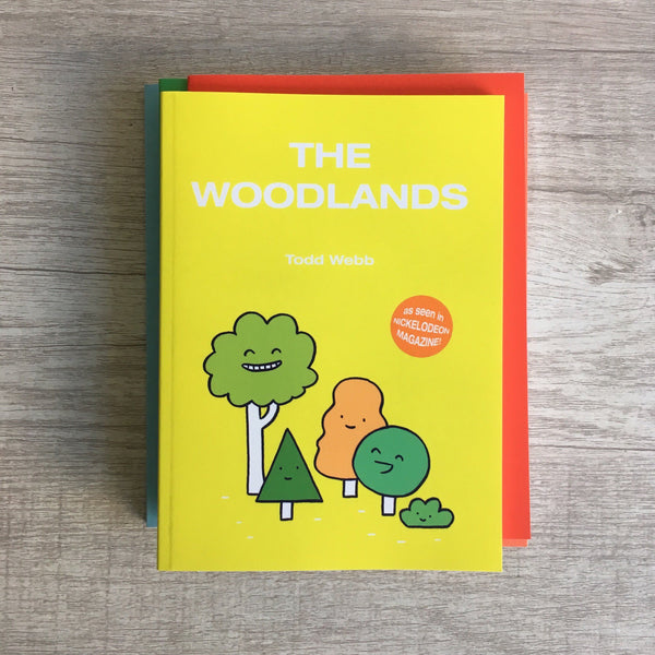 "Toddbot - Todd Webb ""The Woodlands"" Book"