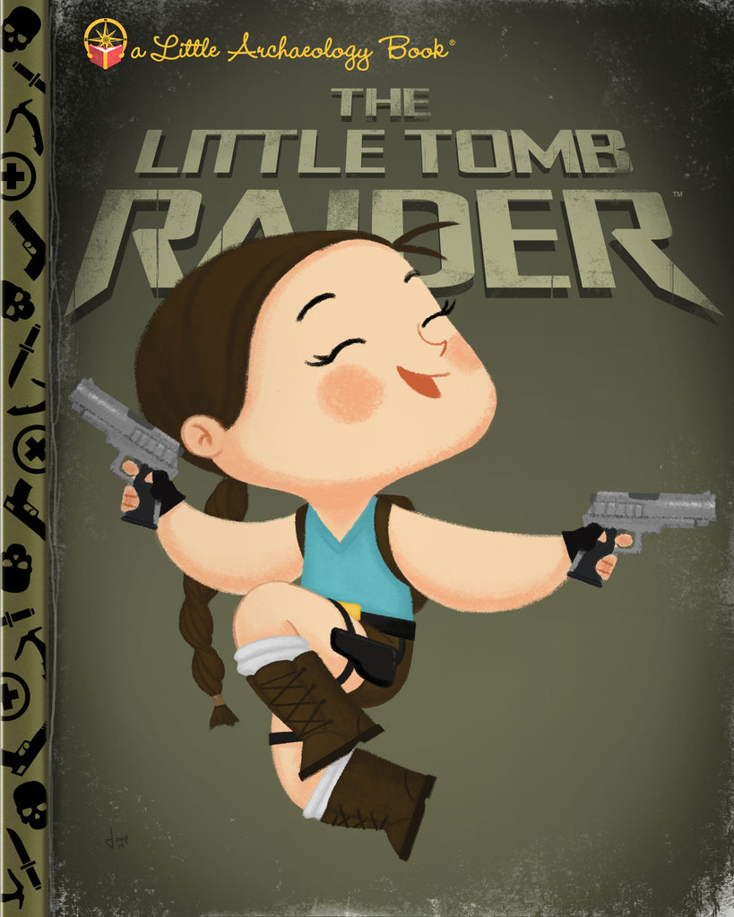 "Joey Spiotto ""The Little Tomb Raider"" Print"