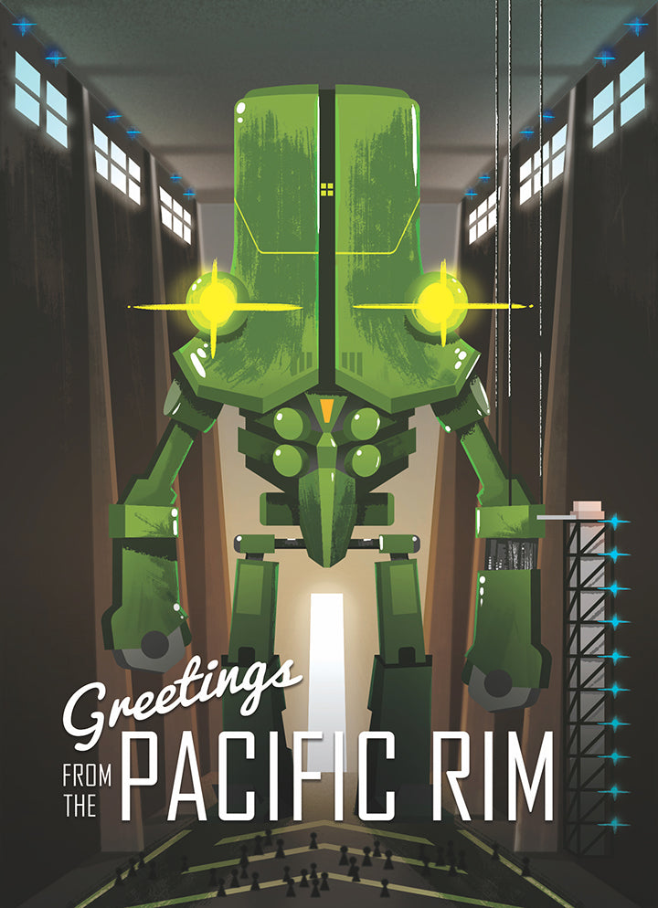 "Tony Bui ""Greetings from the Pacific Rim"" Postcard Print"