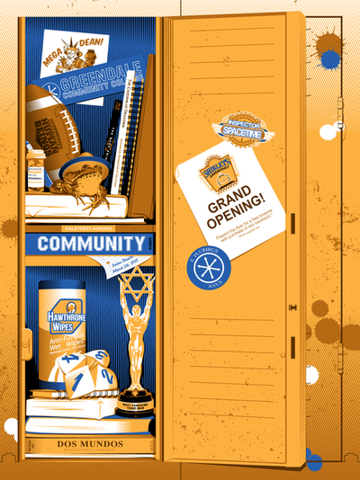 "Tracie Ching ""PaleyFest2013 Honors Community"" Print"