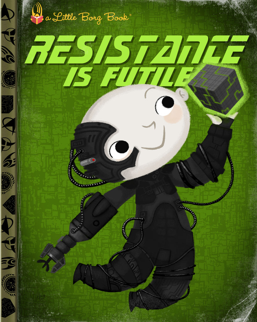 "Joey Spiotto ""Resistance Is Futile"" Print"