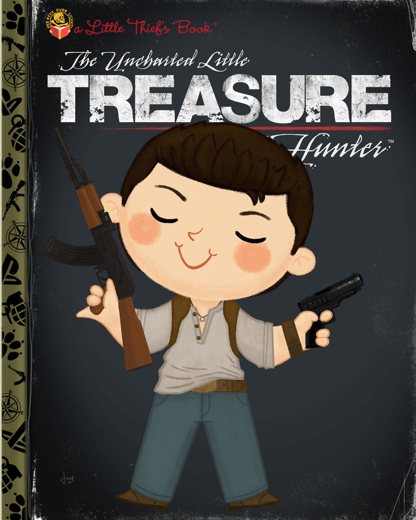 "Joey Spiotto ""The Uncharted Little Treasure Hunter"" Print"