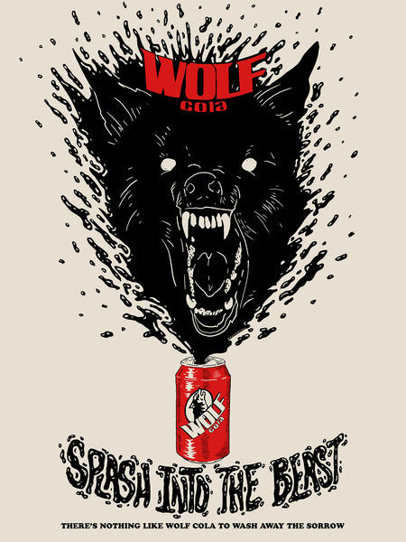 "WalkerTKL ""Wolf Coloa"" Print"