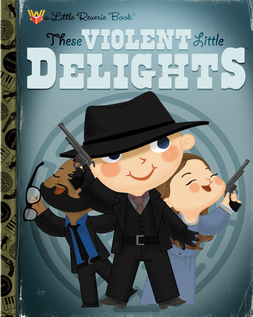 "Joey Spiotto ""These Violent Little Delights"" Print"