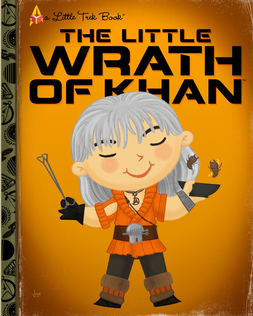 "Joey Spiotto ""The Little Wrath of Khan"" Print"