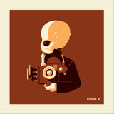 "Tom Whalen ""band'd : 1"" Metal Print"