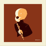 "Tom Whalen ""band'd : 2"" Metal Print"