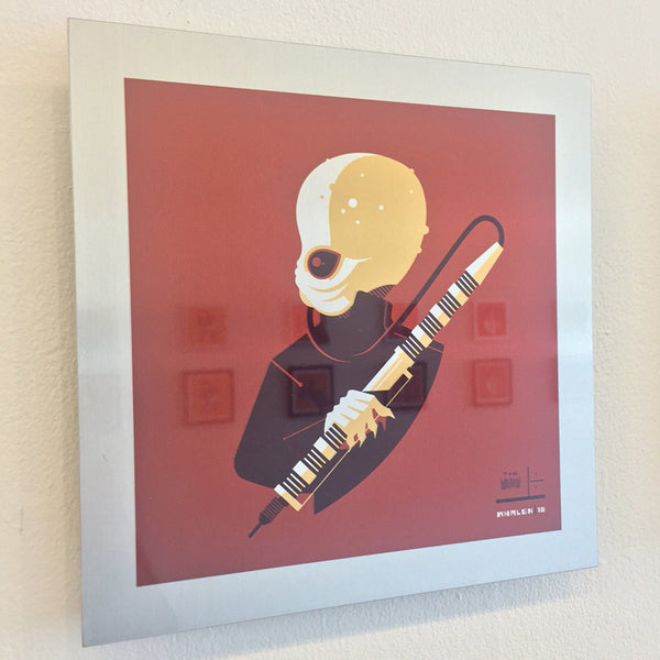 "Tom Whalen ""band'd : 3"" Metal Print"